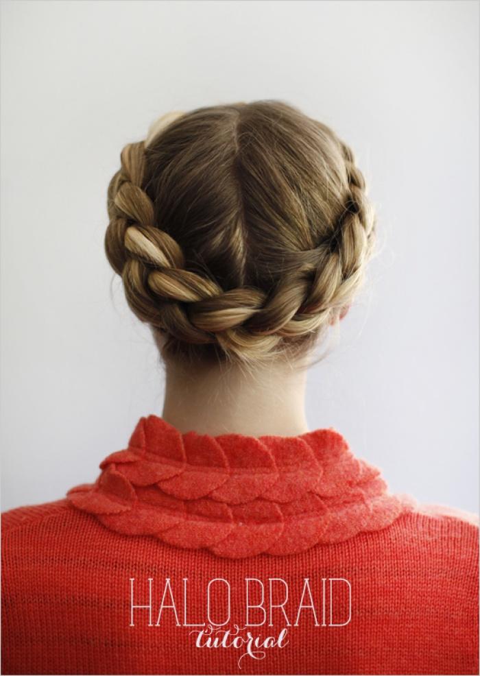 коса-венок фото 1