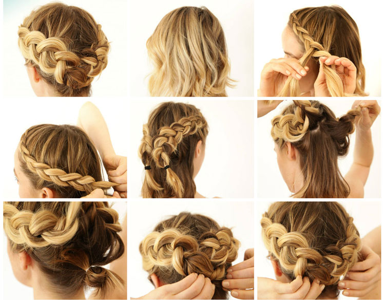 коса-венок фото 3