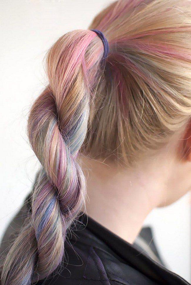 скрученная коса фото 1