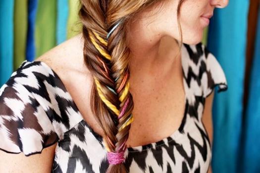 цветные косы фото 1
