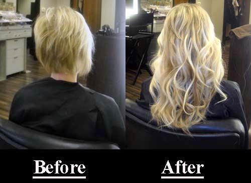 как ухаживать за нарощенными волосами фото