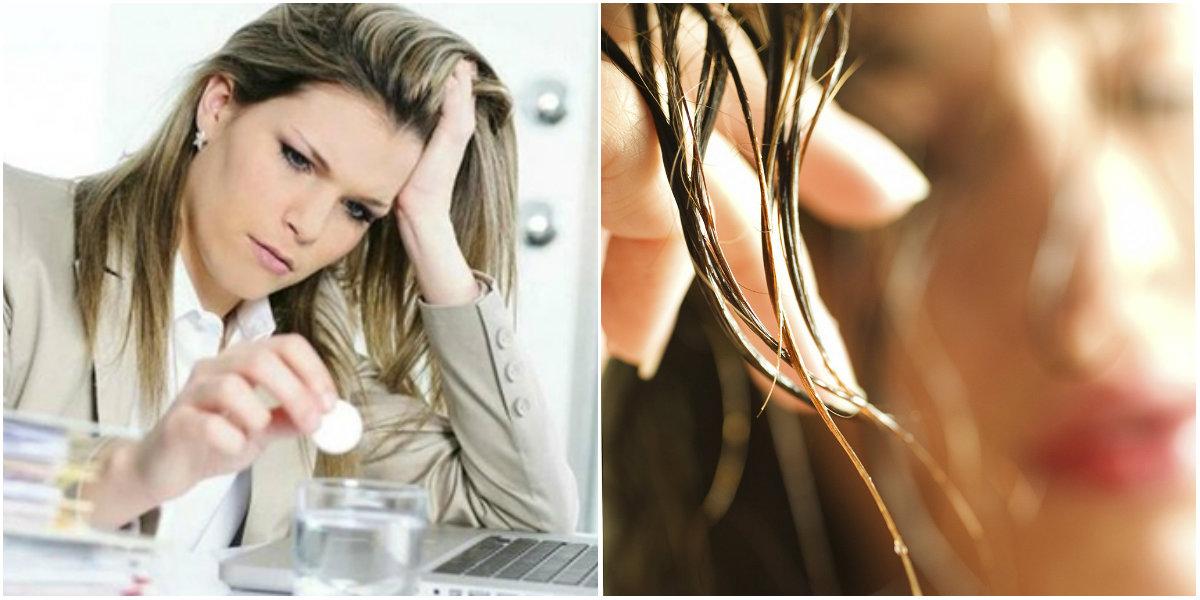жирные волосы и стресс