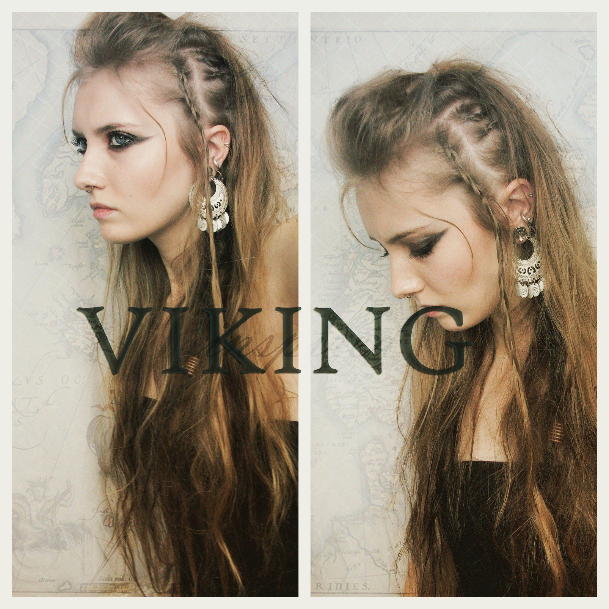 Прически из Викингов фото 1