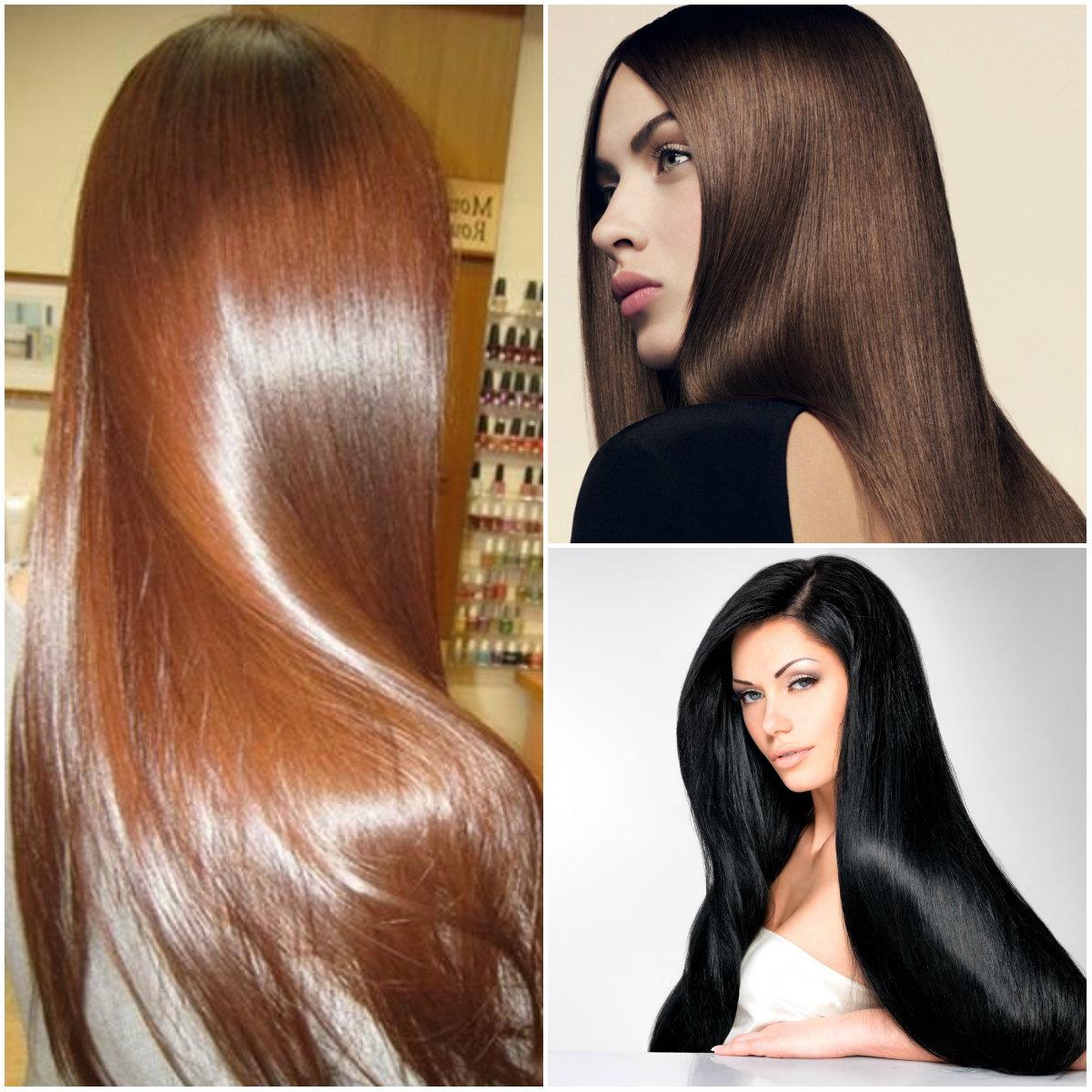 эффект экранирования волос
