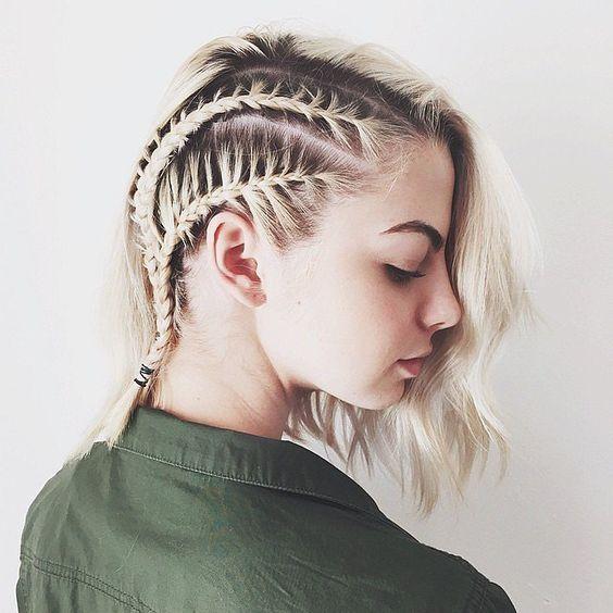 прически викингов для коротких волос