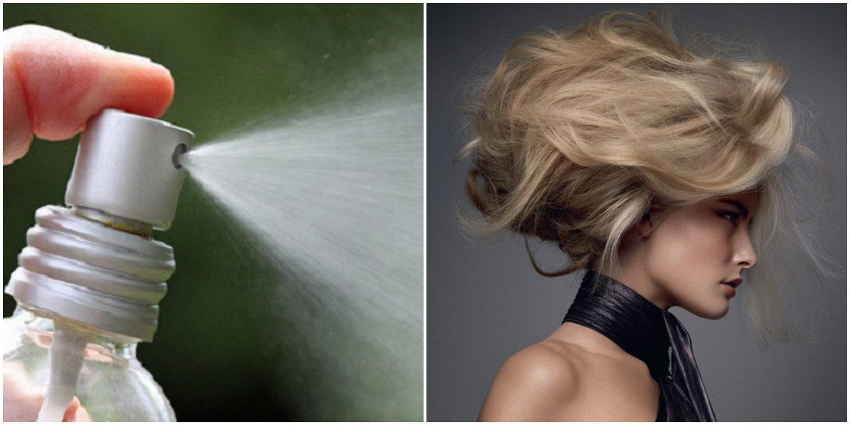 спрей для укладки волос