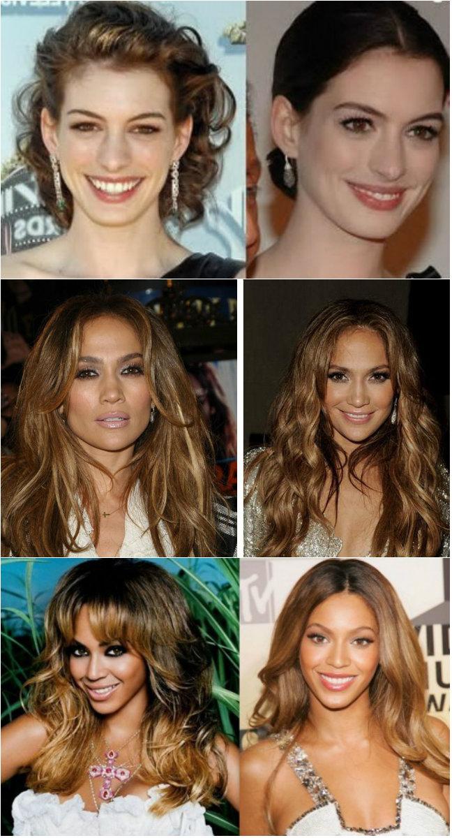 цвет волос который старит