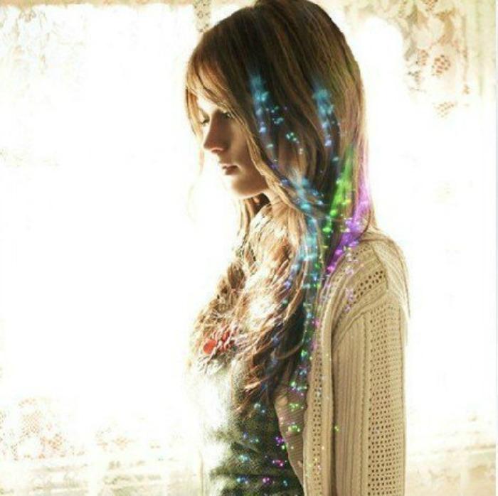 светящиеся волосы: фото 12