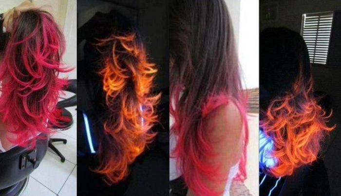 светящиеся волосы: фото 15