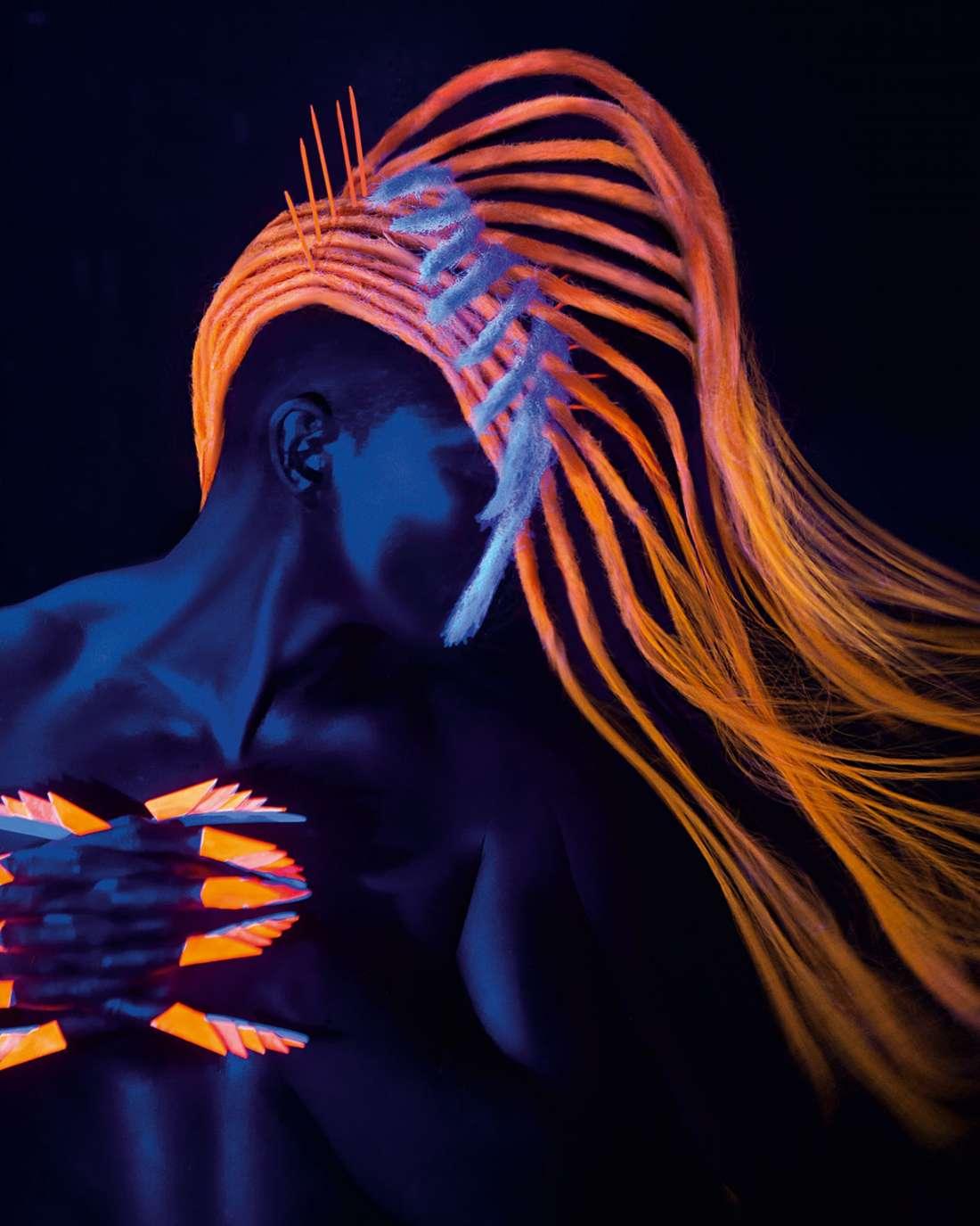 светящиеся волосы: фото 27