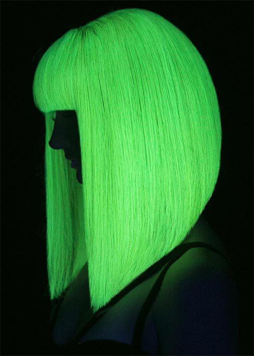 светящиеся волосы: фото 28