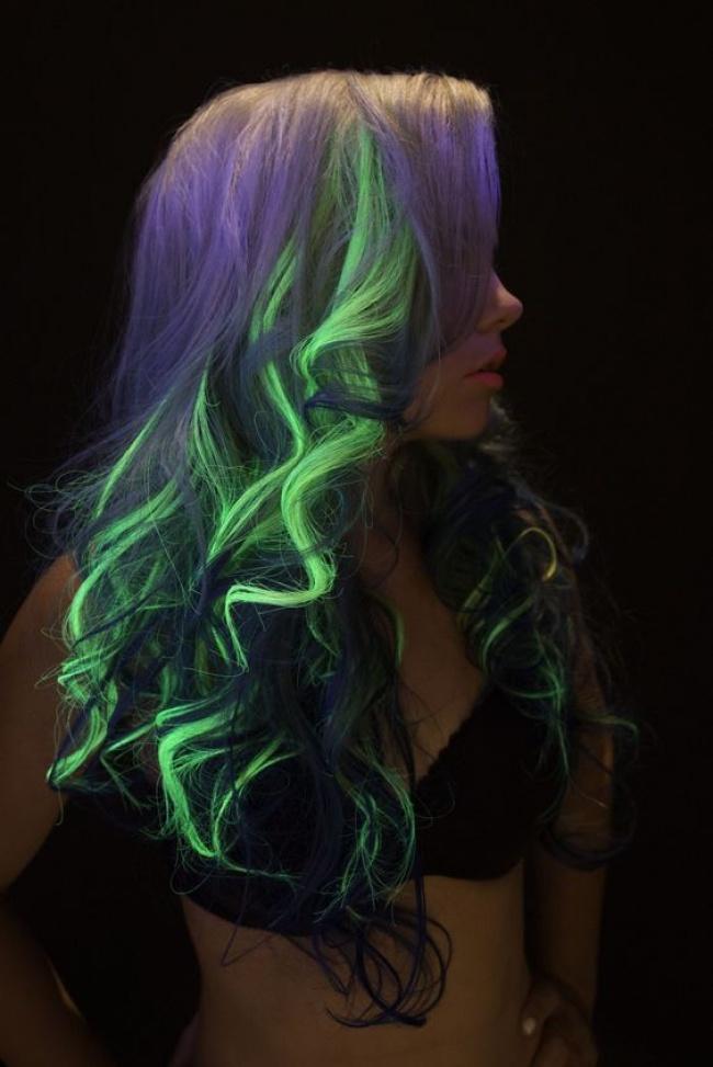 светящиеся волосы: фото 3