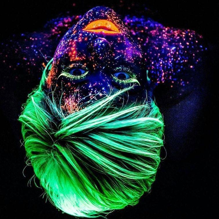 светящиеся волосы: фото 30