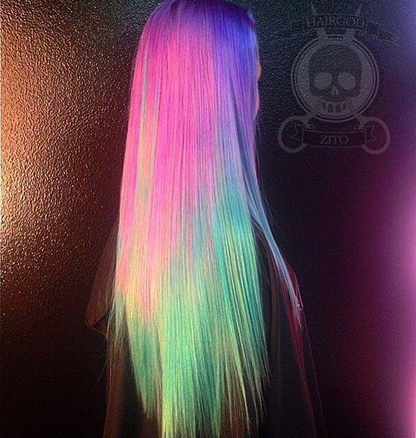 светящиеся волосы: фото 31