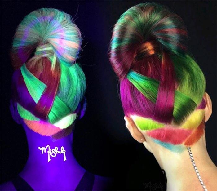 светящиеся волосы: фото 39