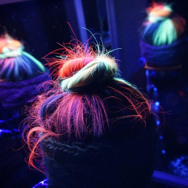 светящиеся волосы: фото 4
