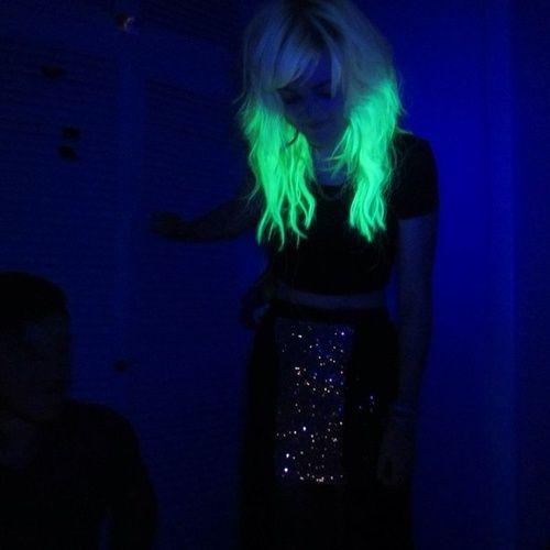 светящиеся волосы: фото 6