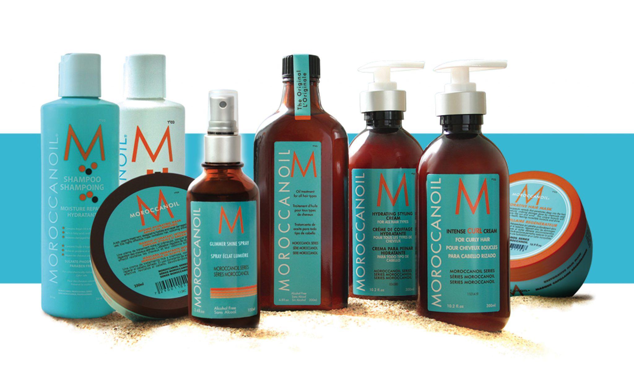Средства с аргановым маслом для волос