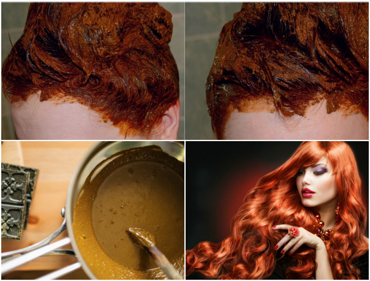 Как сделать волосы темнее хной и басмой