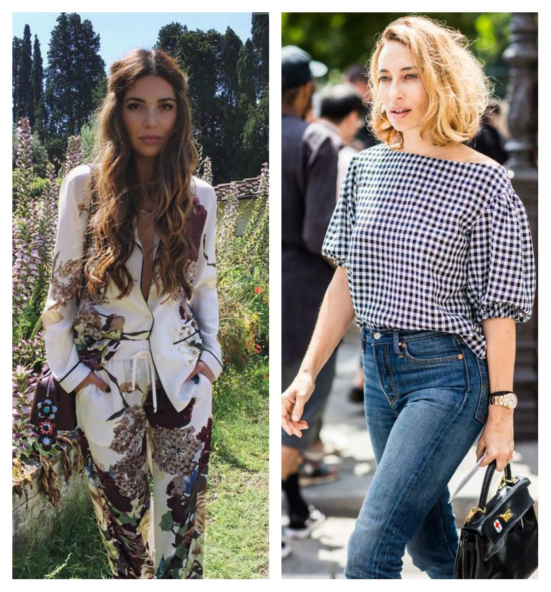 прическа и стиль одежды