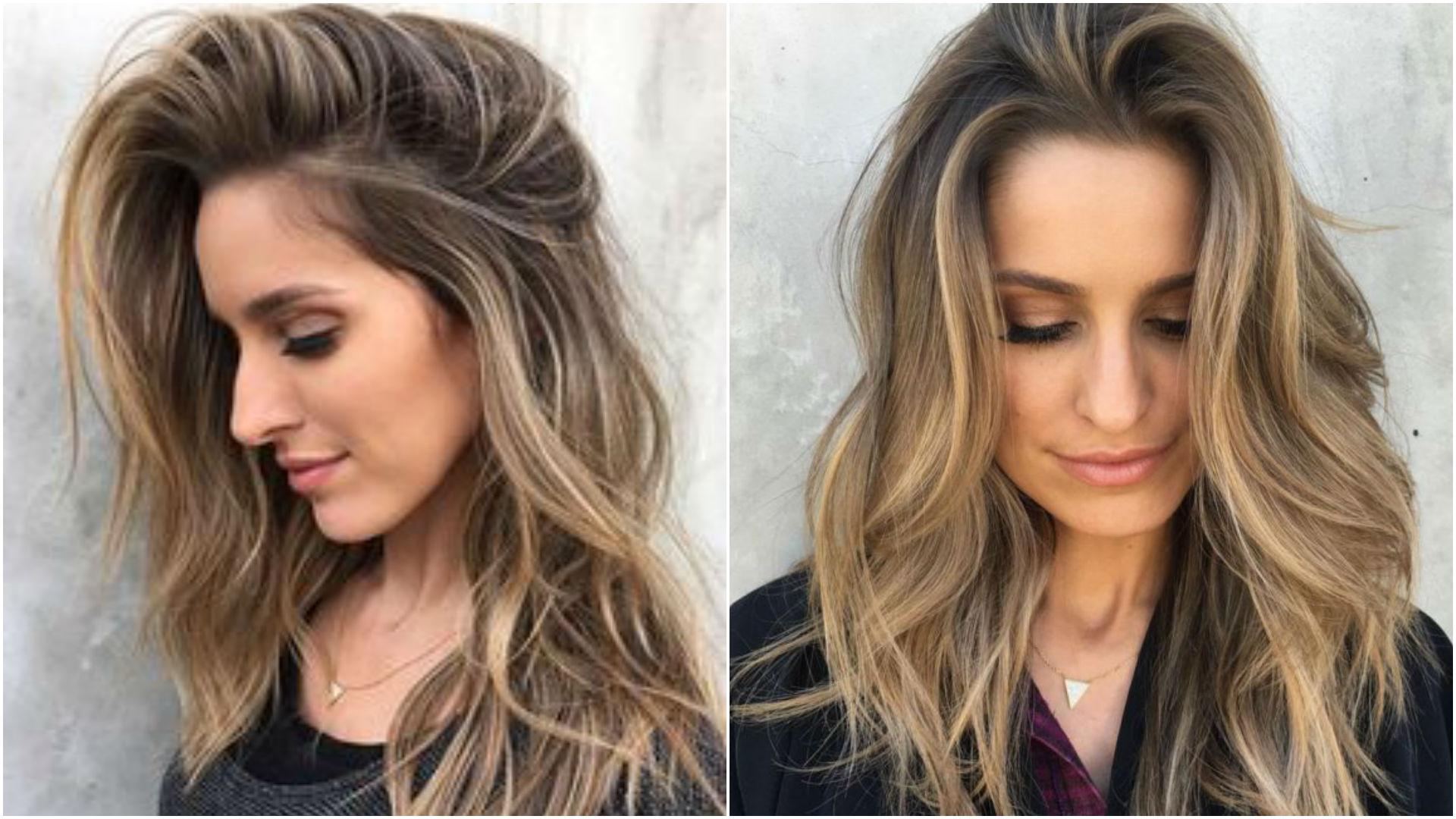 Покраска шатуш на коротких волосах фото