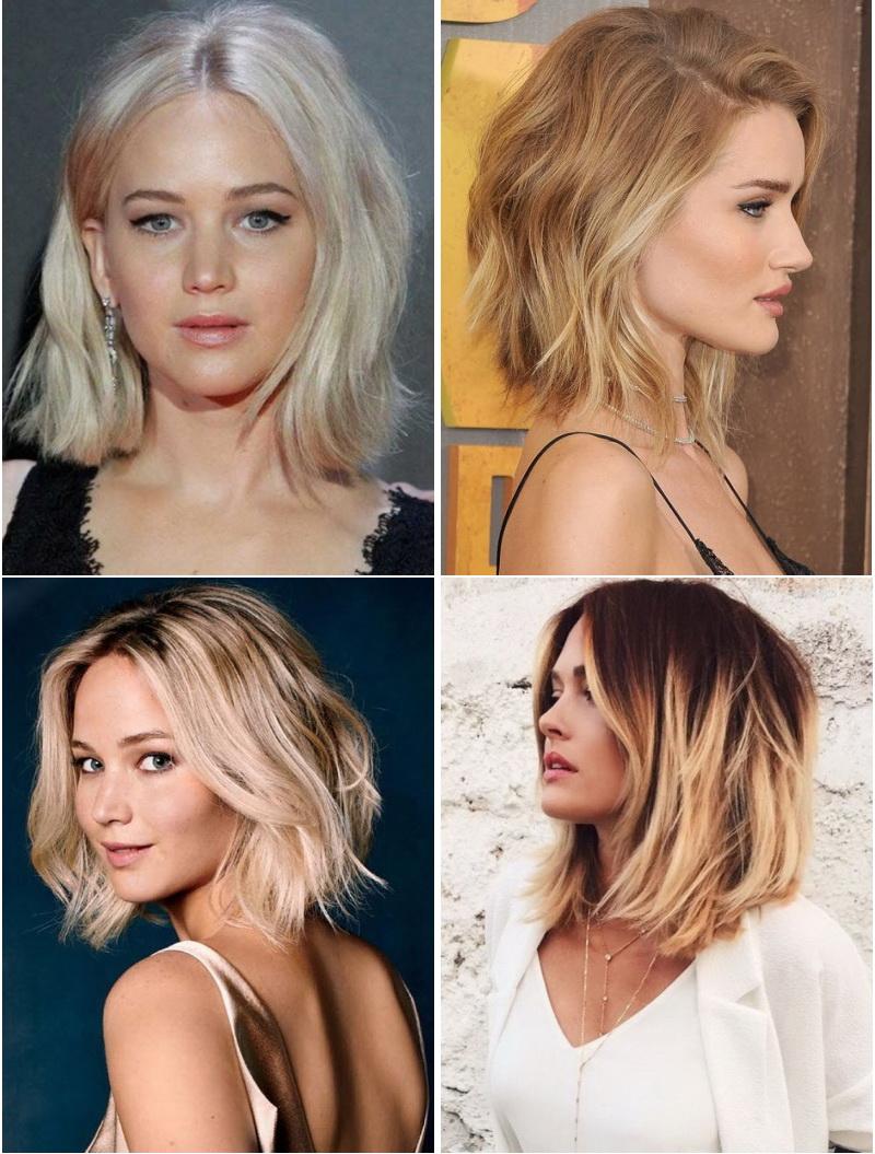 Стрижки на средние волосы каре 2017 женские