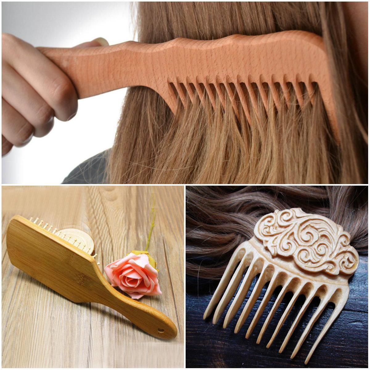 деревянные расчески для волос