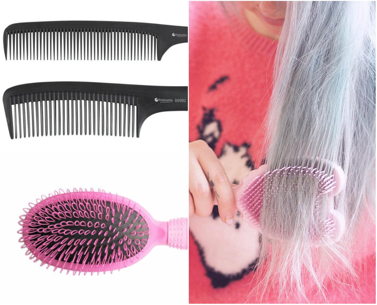 карбоновые расчески для волос