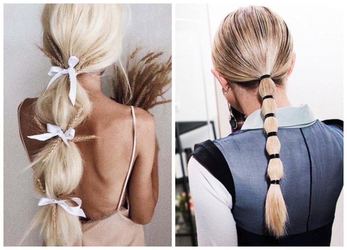 как сделать хвост похожий на косу