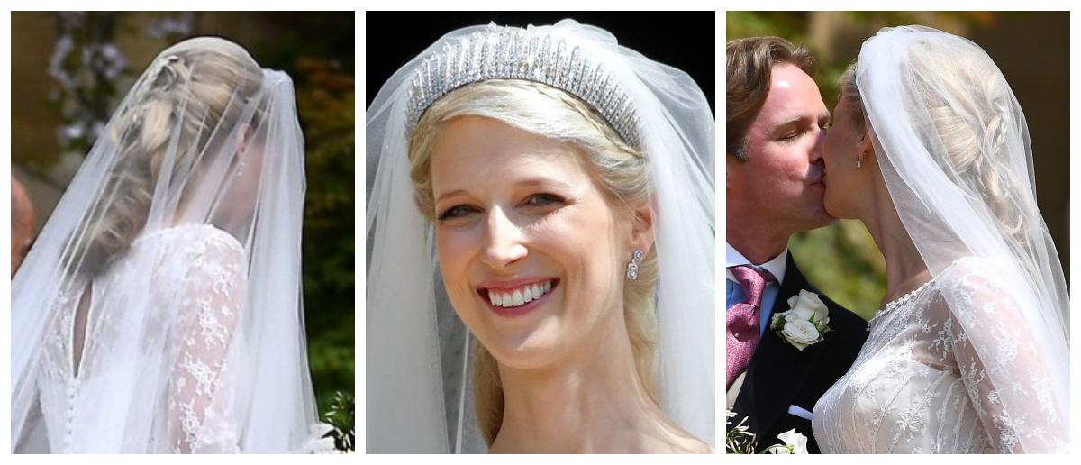 Свадебные прически герцогини
