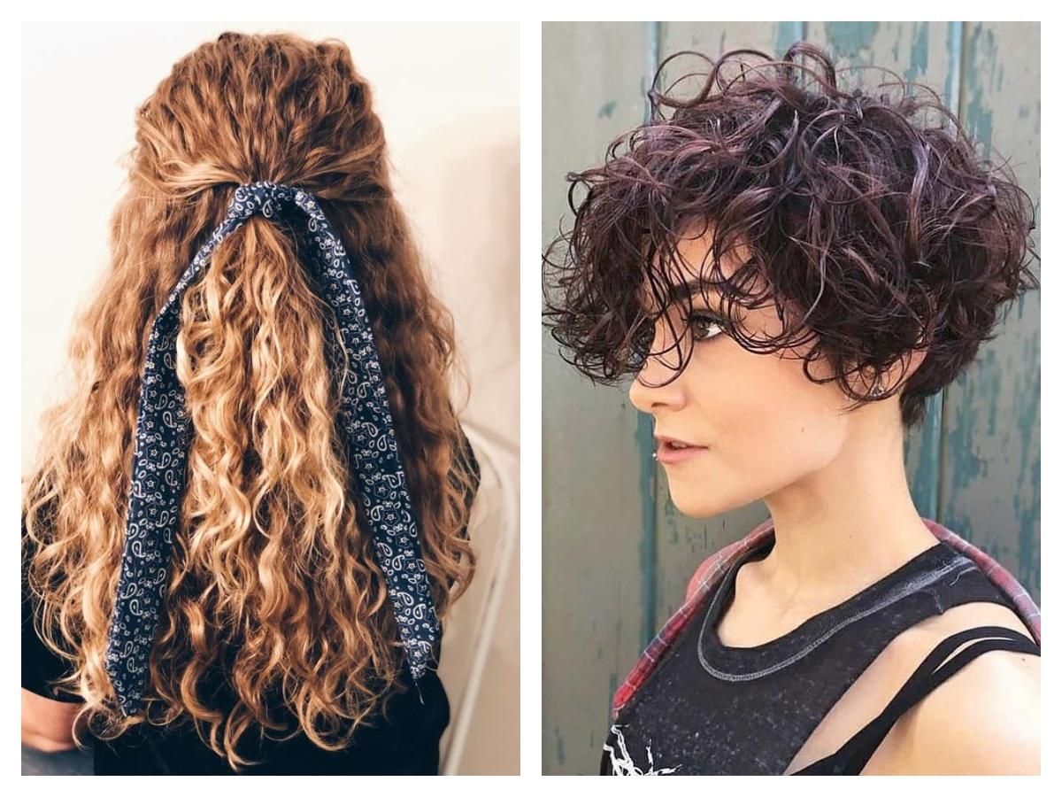 карвинг волос на длинных и коротких волосах