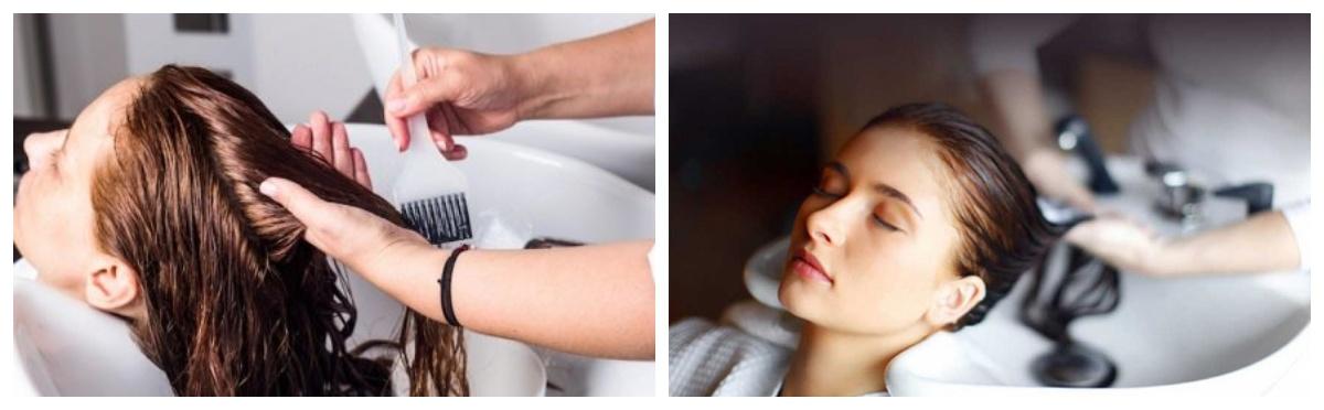 процедуры для пористых волос