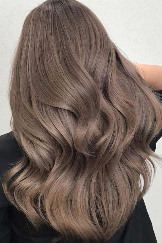 волосы грибного оттенка
