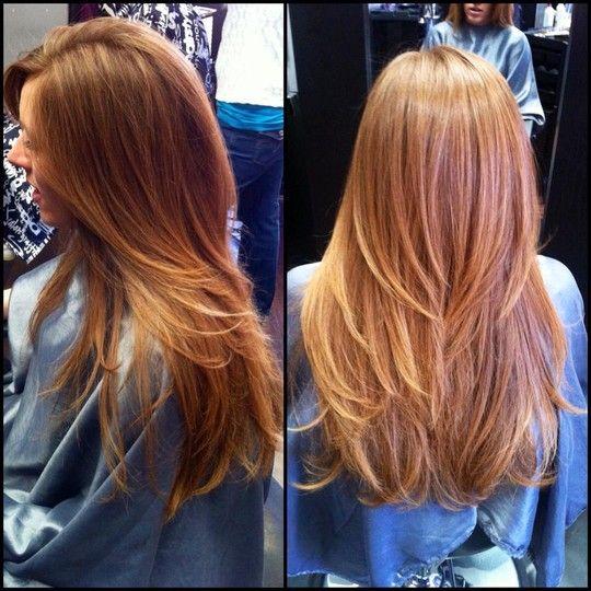стрижка на лето для длинных волос фото 3