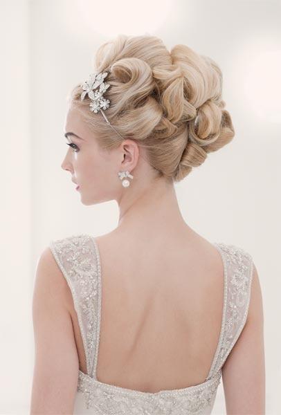 свадебная прическа для длинных волос фото 16