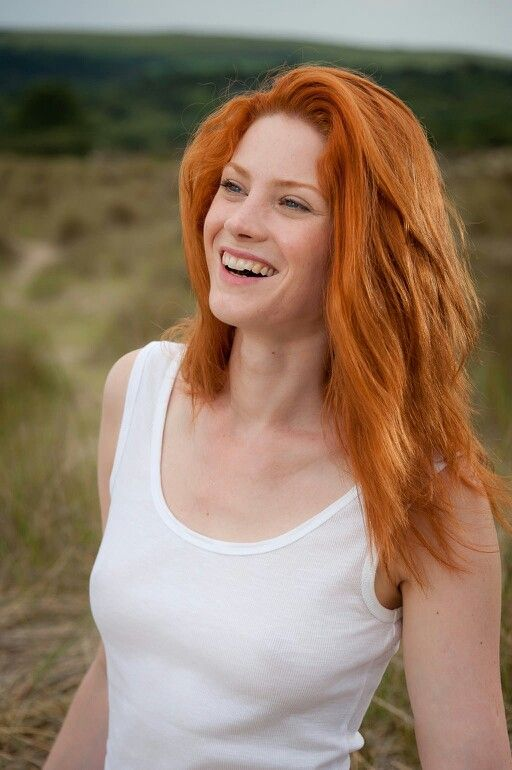 red hair photo 5