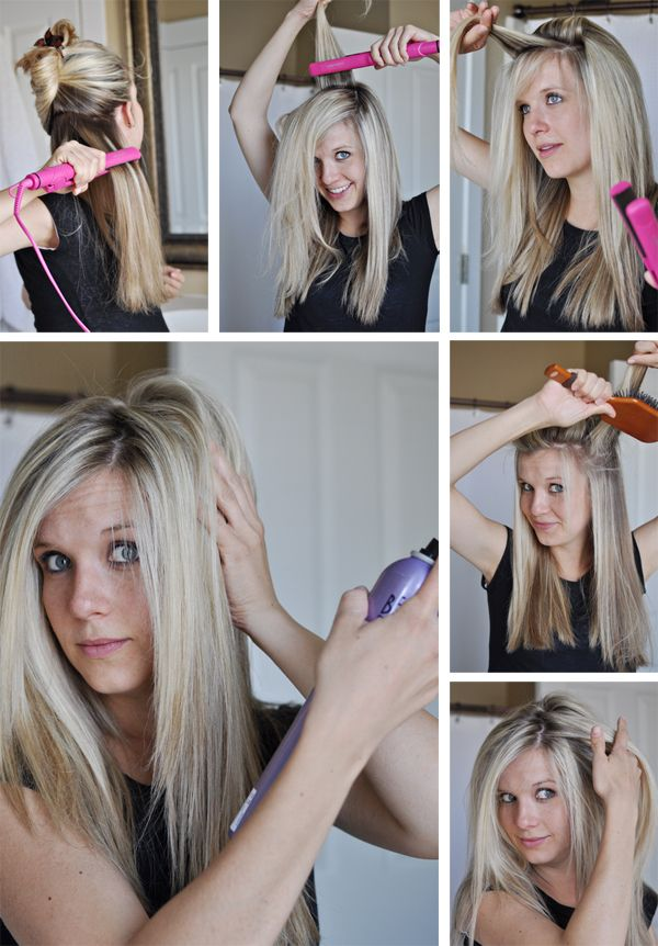 инструкция по приданию объема волосам