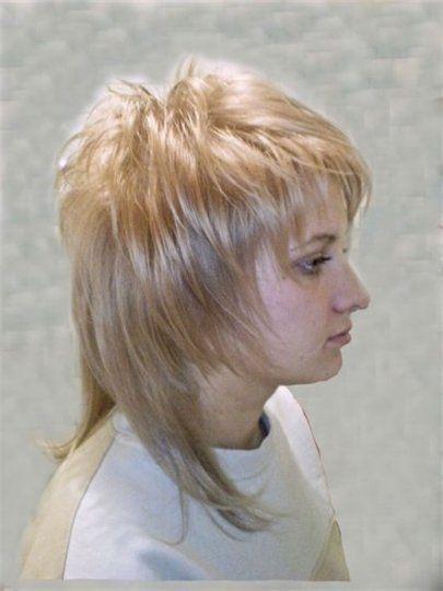 стрижки с короткой макушкой на длинные волосы фото