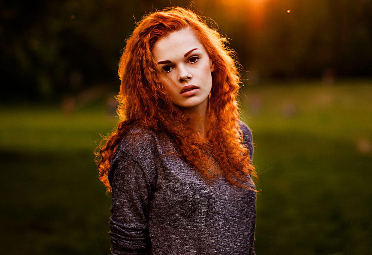Рыжие фото девушек фото 210-468
