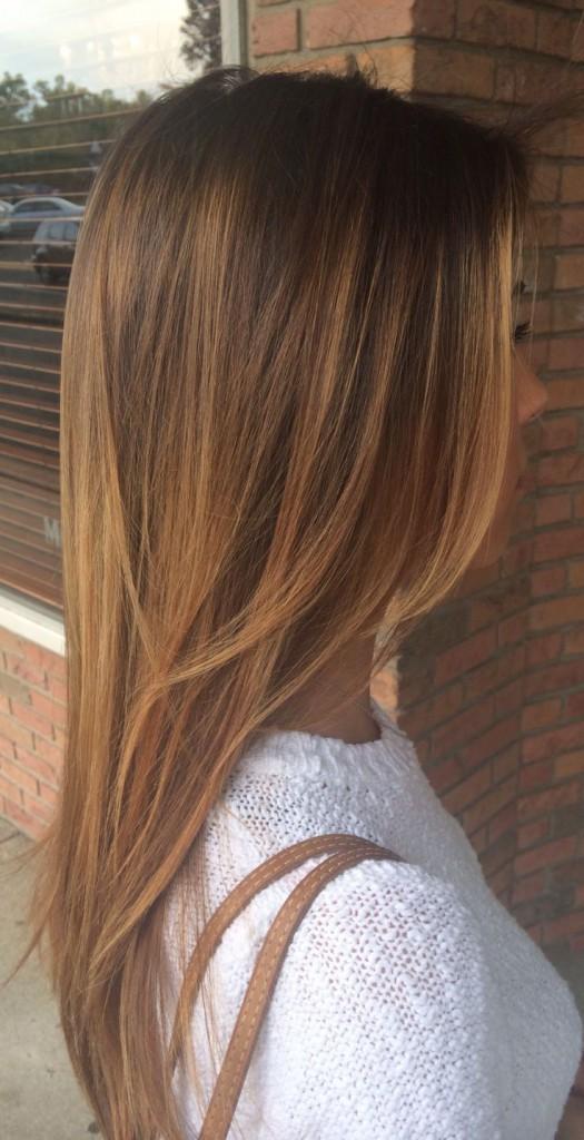 окрашенные волосы, уход