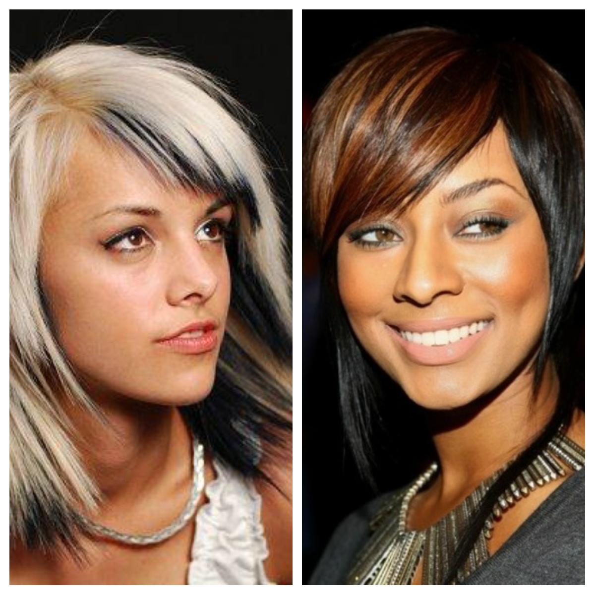 Покраска волос в два цвета: фото 3