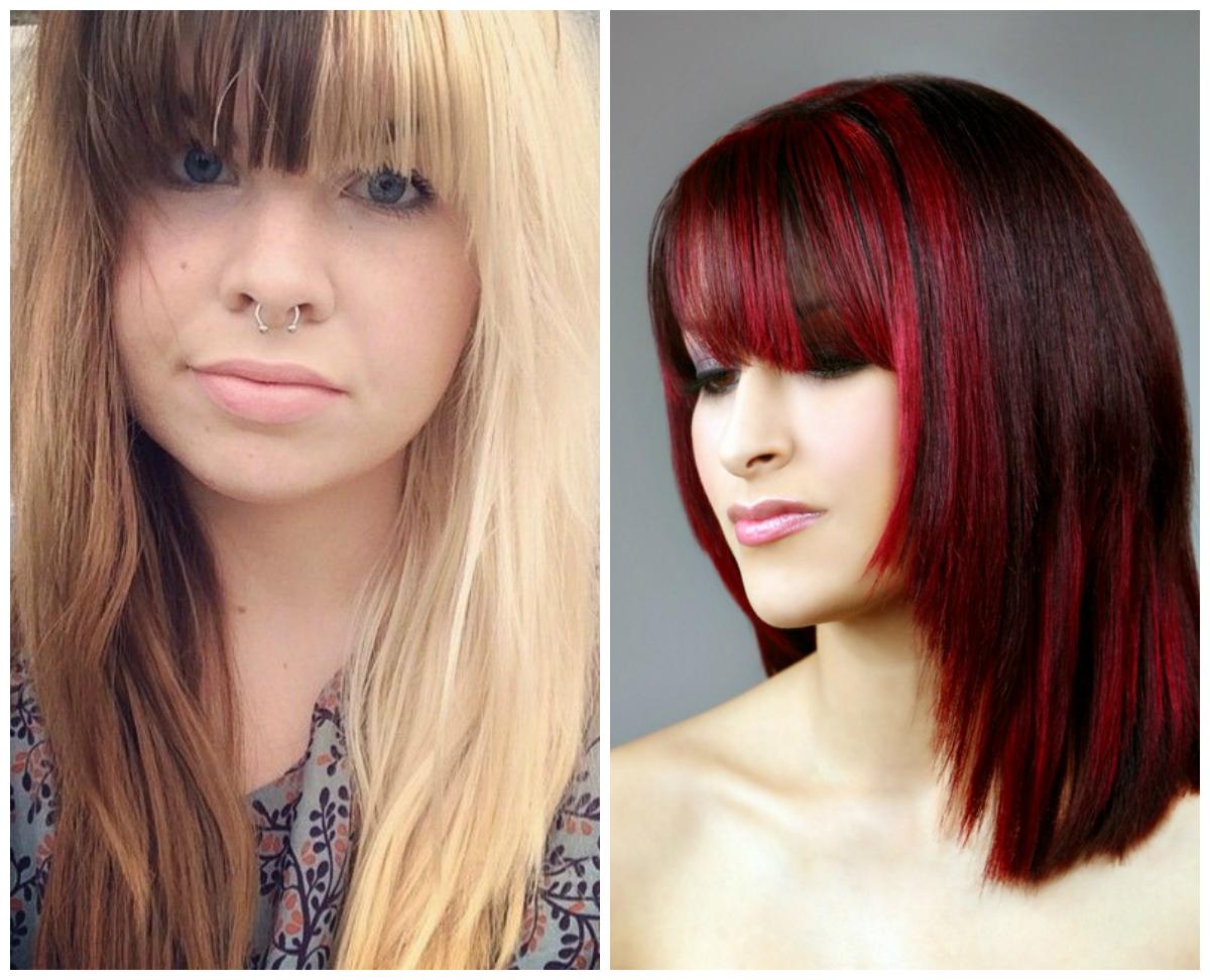 Покраска волос в два цвета: фото 5