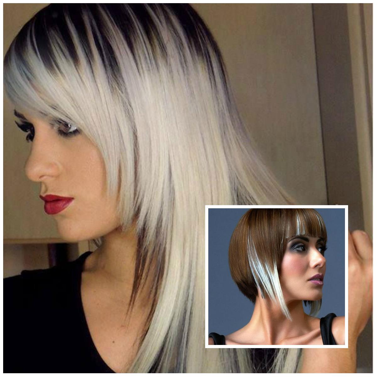 Покраска волос в два цвета: фото 7
