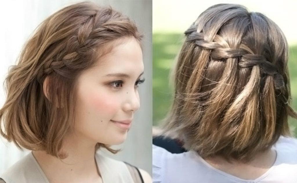 Красивые причёски на каре