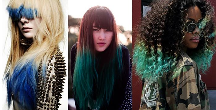 Покраска волос в два цвета: фото 17