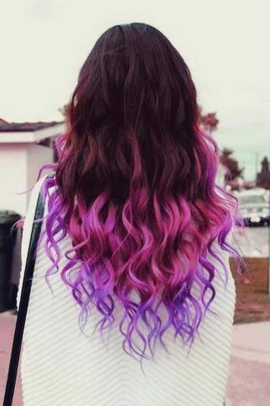 Покраска волос в два цвета: фото 15