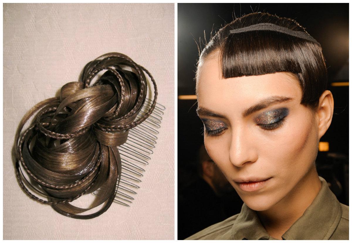 Аксессуары для волос: искусственные волосы