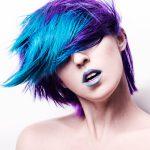 Покраска волос в два цвета: 75 фото