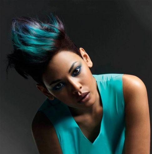 Покраска волос в два цвета: фото 29