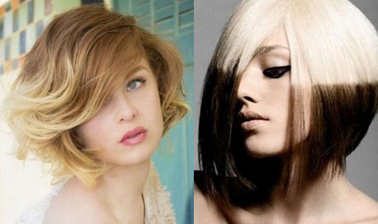 Покраска волос в два цвета: фото 28
